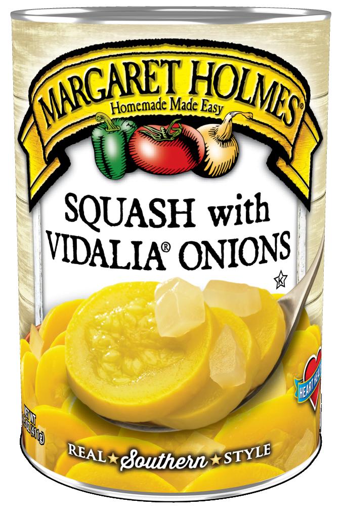Squash with Vidalia® Onions