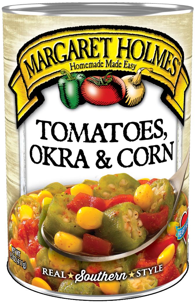 Tomatoes, Okra and Corn