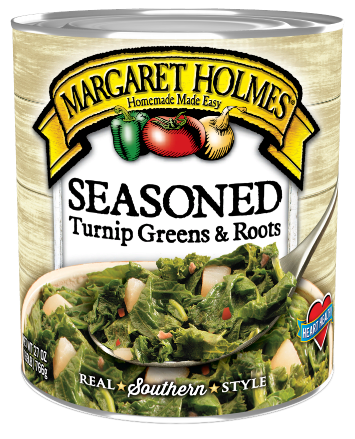 Seasoned Turnip Greens & Roots