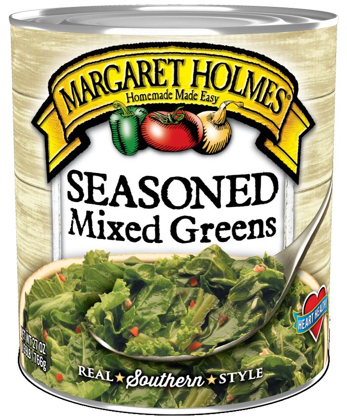 Seasoned Mixed Greens