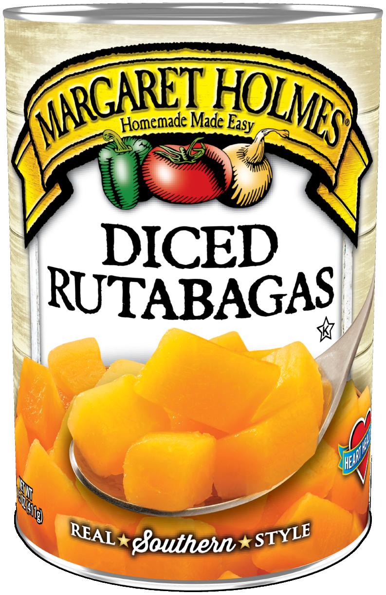 Diced Rutabaga