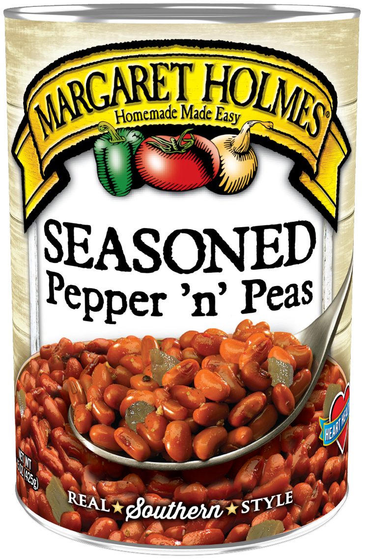 Seasoned Pepper 'n' Peas