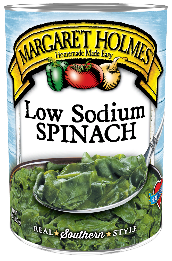 Low Sodium Spinach