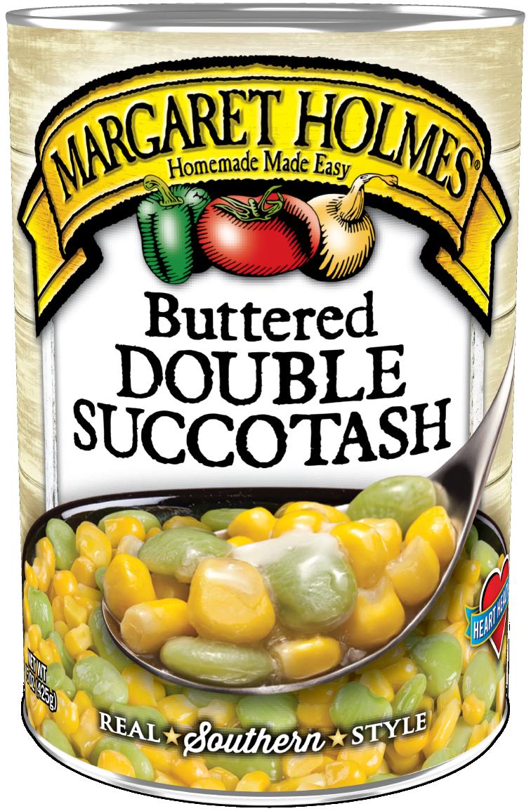 Buttered Double Succotash