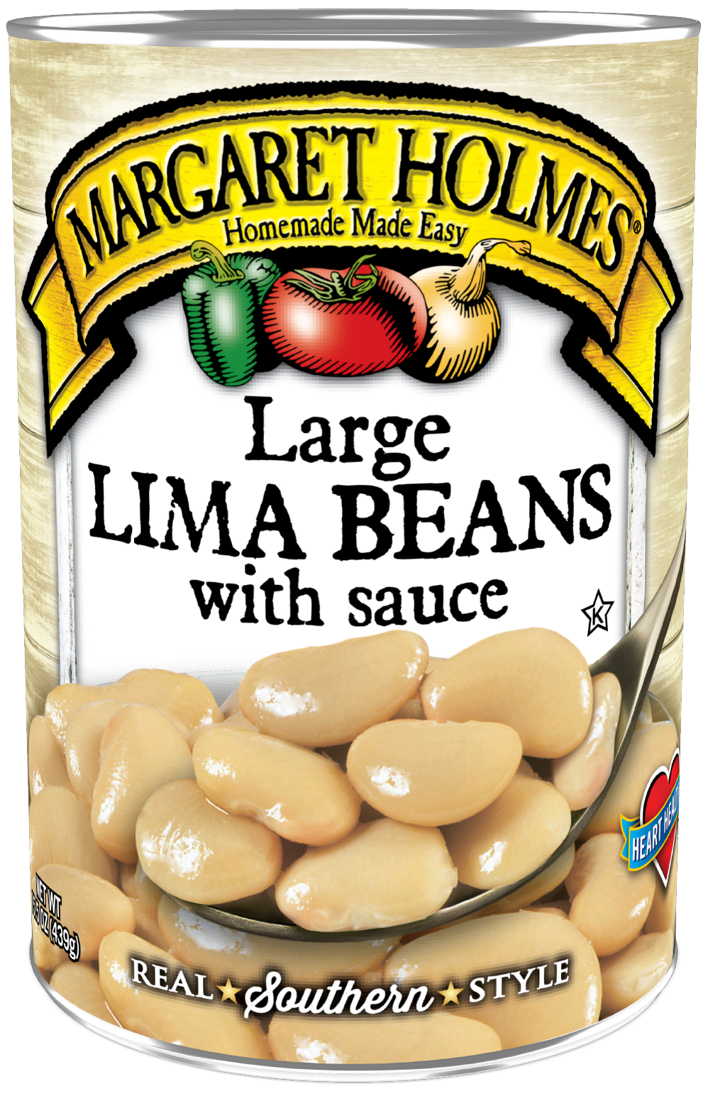 Large Lima Beans with Sauce