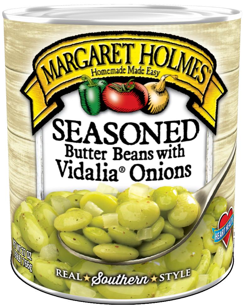 Seasoned Butter Beans with Vidalia® Onions