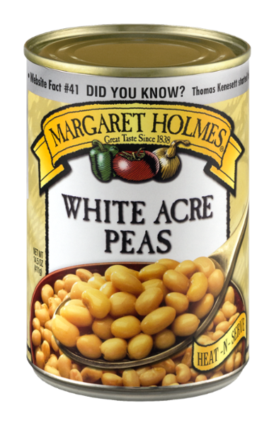 White Acre Peas