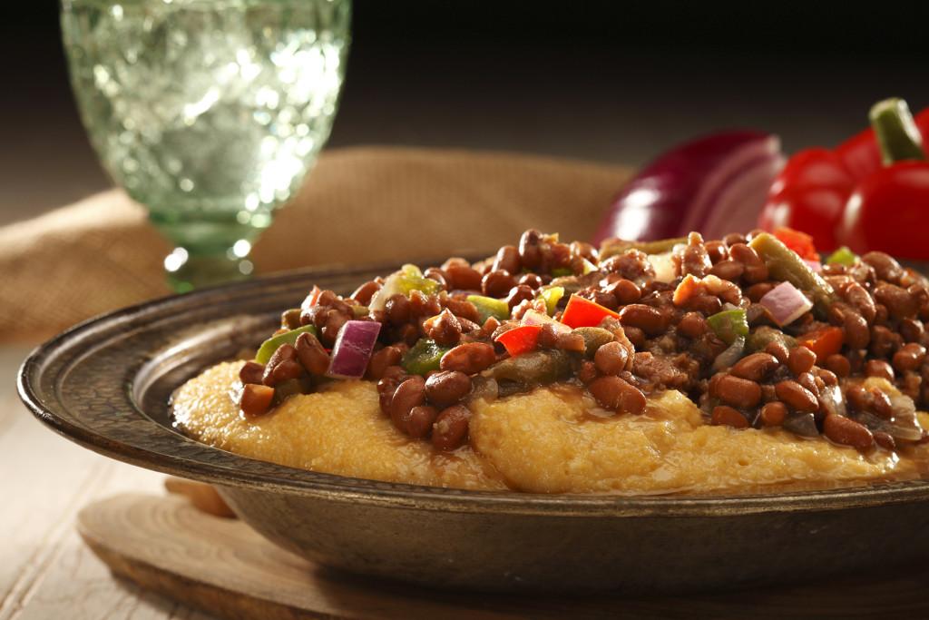 Field Peas & Snaps with Sausage