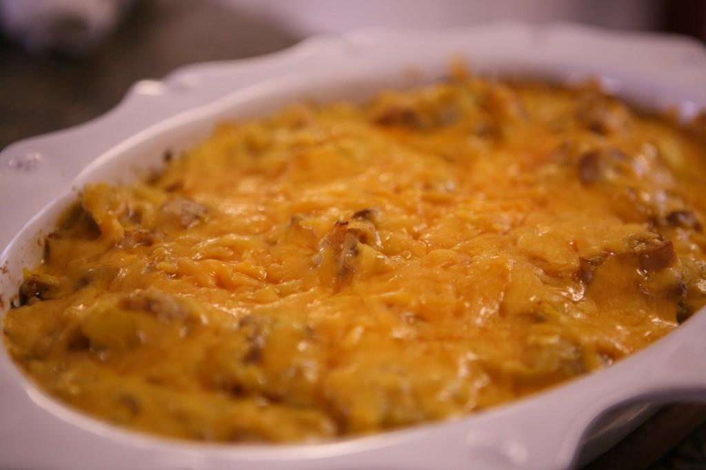 Squash & Cheese Casserole