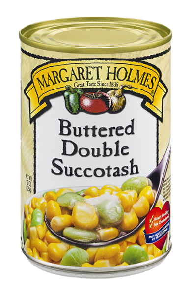 Buttered Double Succotash