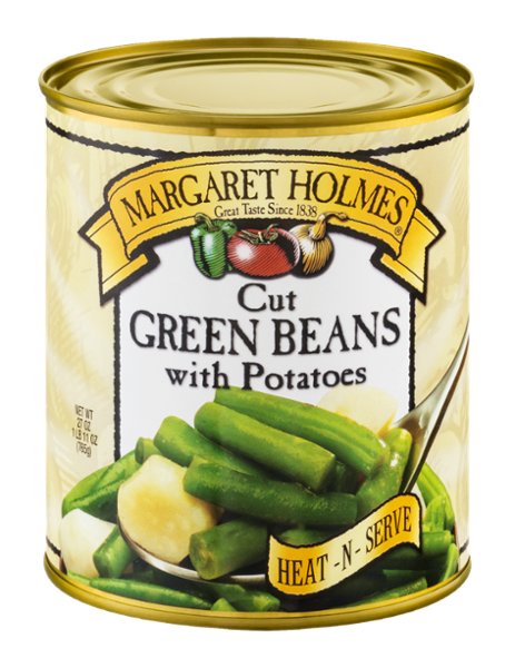 Cut Green Beans with Potatoes