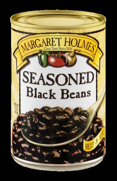Seasoned Black Beans