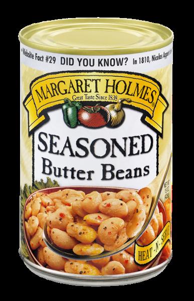 Seasoned Butter Beans