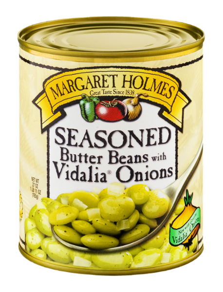Seasoned Butter Beans with Vidalia® Onions