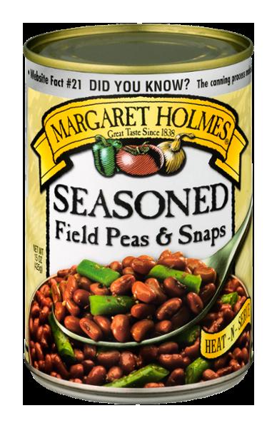 Seasoned Field Peas & Snaps