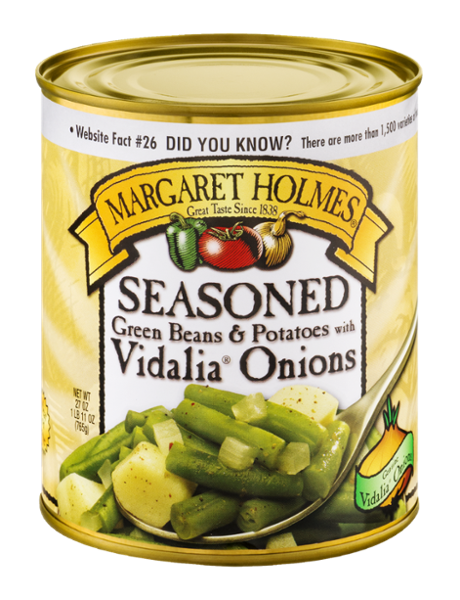 Seasoned Green Beans & Potatoes with Vidalia® Onions