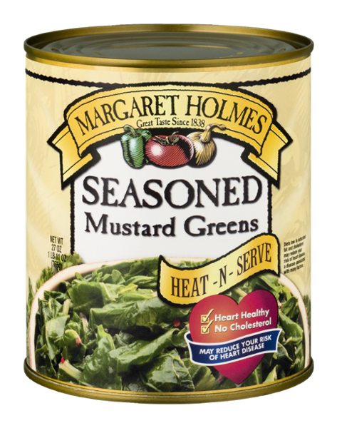 Seasoned Mustard Greens