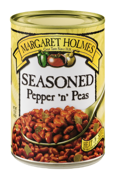 Seasoned Pepper 'n' Peas
