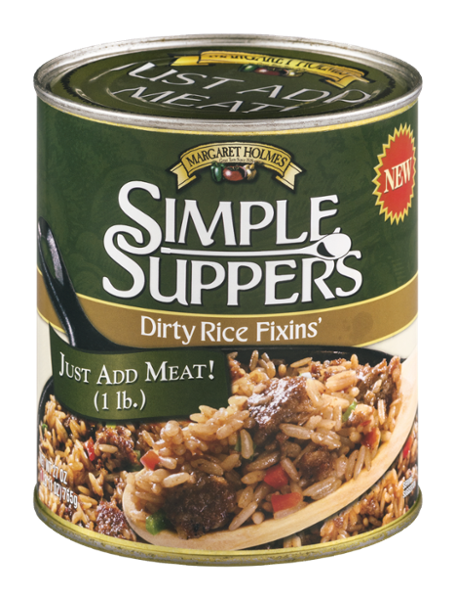 Simple Suppers Dirty Rice Fixins'