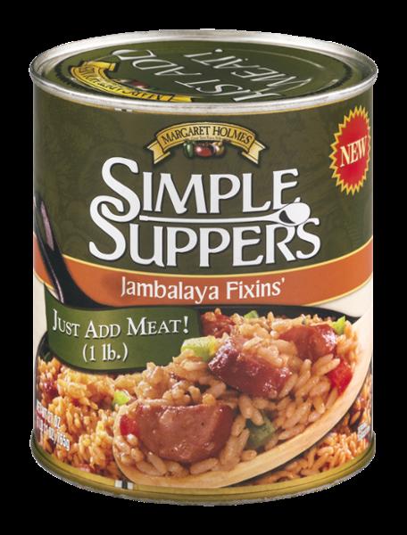 Simple Suppers Jambalaya Fixins'