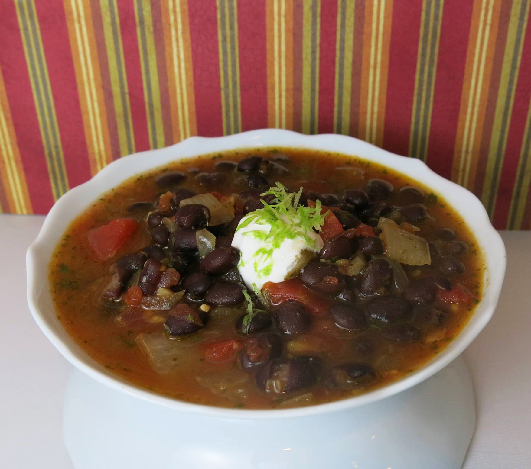 Black Bean Soup - Margaret Holmes