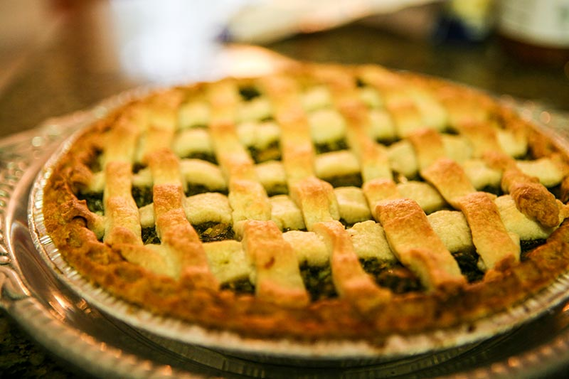 Blue Ridge Collard Green Lattice Tart