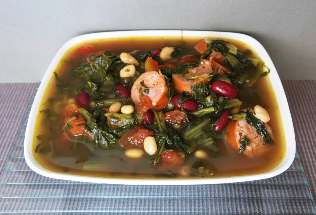 Mixed Greens Soup