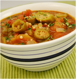 Spicy Tomato & Okra
