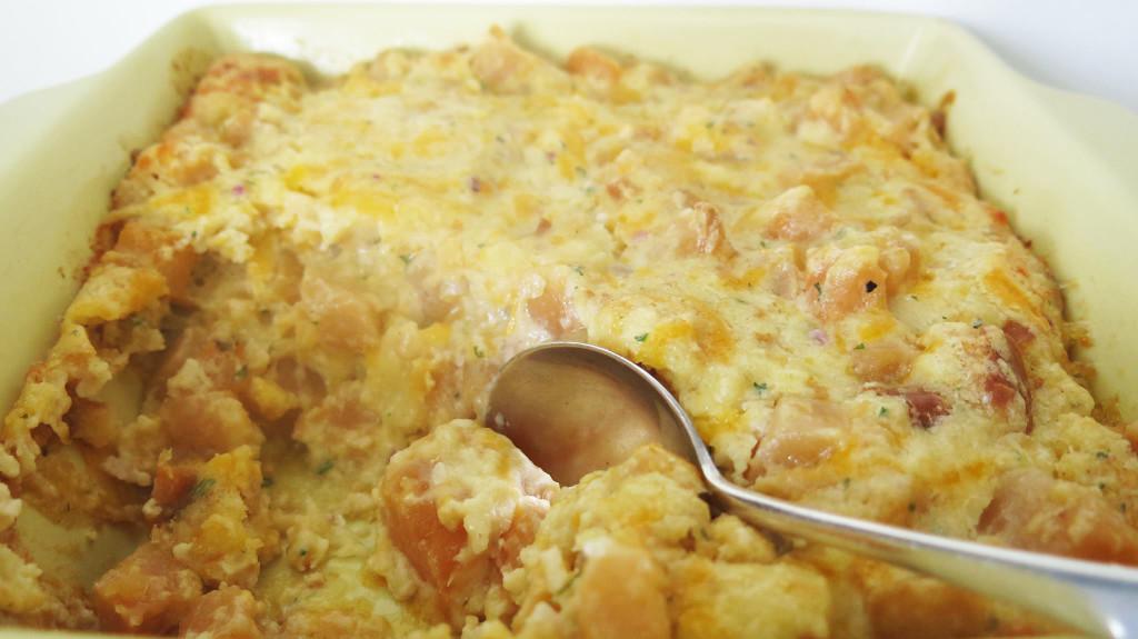 Rutabaga Bread Custard