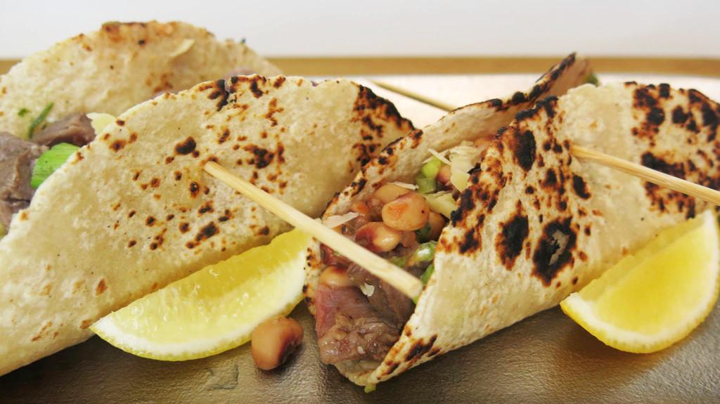 Hoppin' John & Steak Tacos