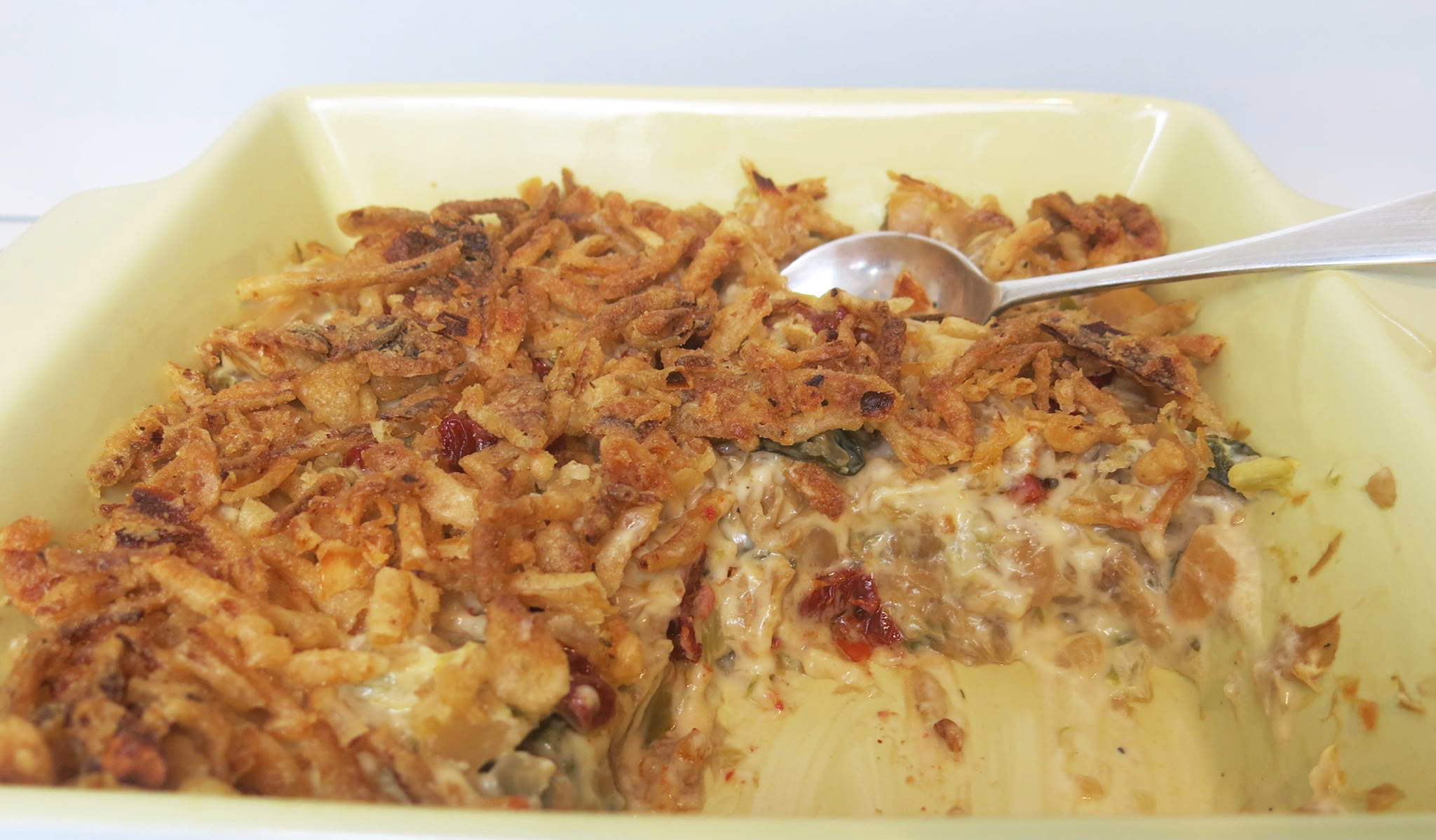 Cabbage Amp Rutabaga Casserole With Crunchy Onions