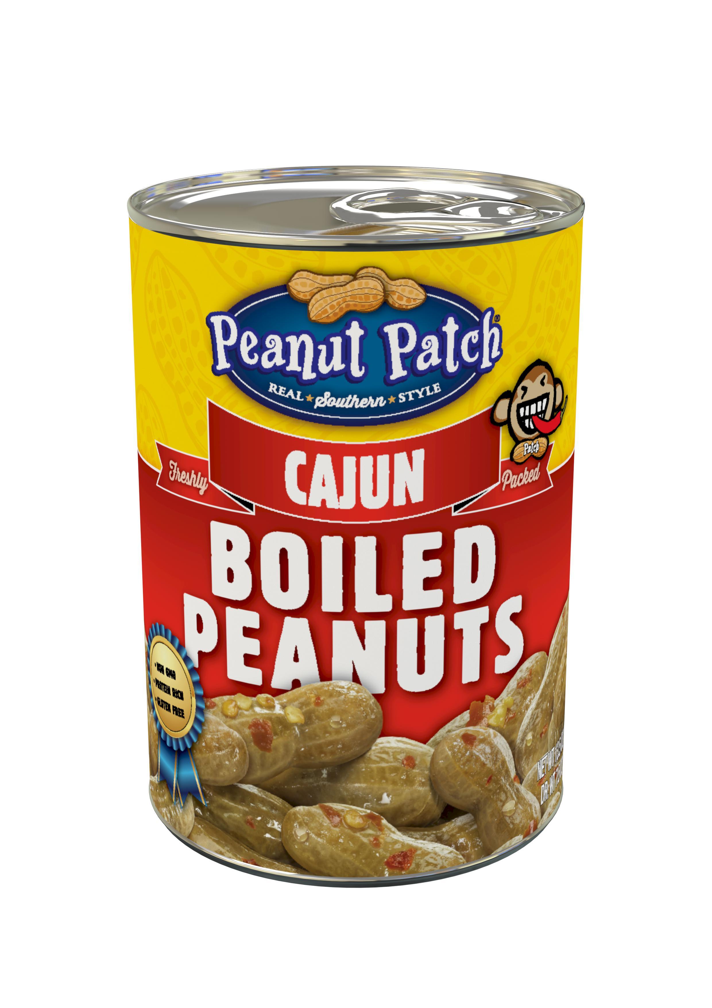 Cajun Style Green Boiled Peanuts