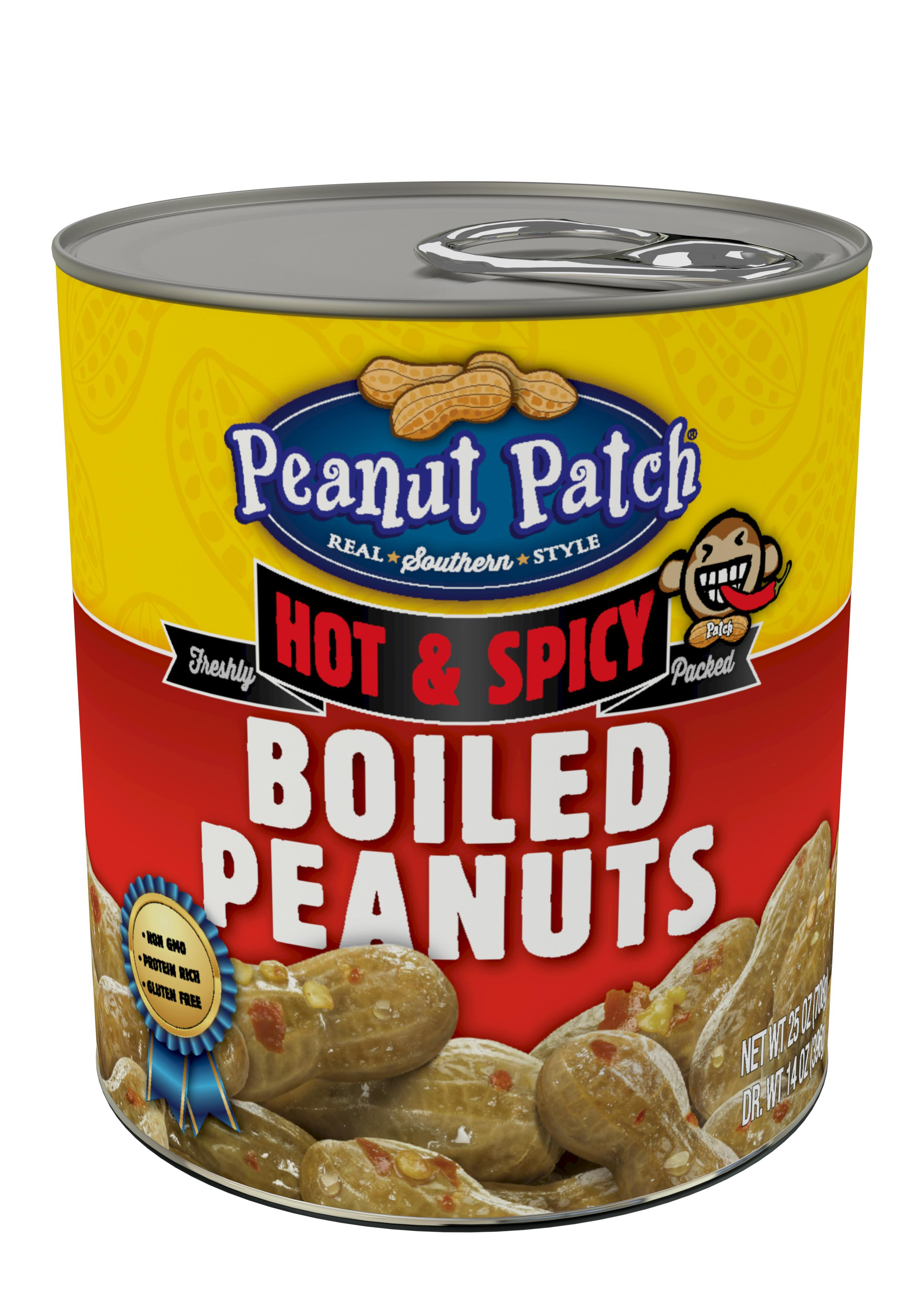 Hot & Spicy Green Boiled Peanuts