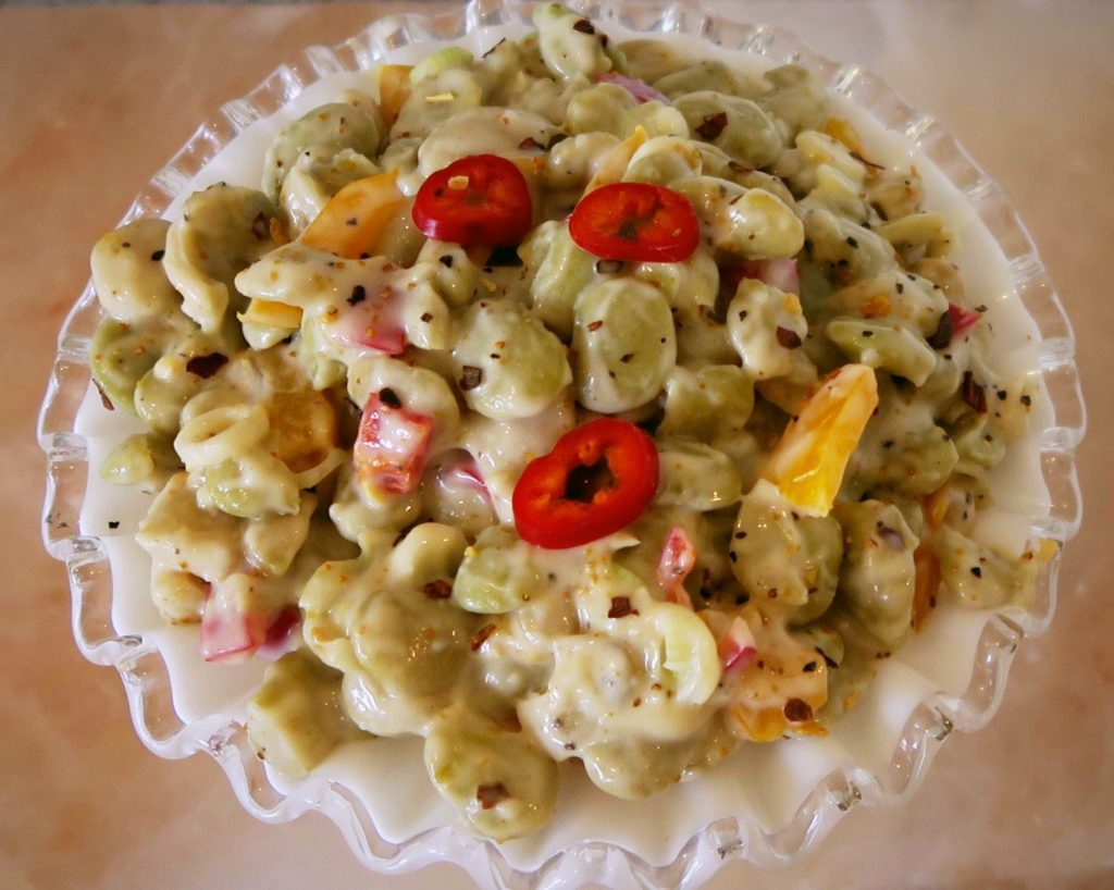 Chilled Lima Bean Salad