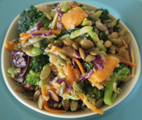 Sweet Potato Broccoli Salad