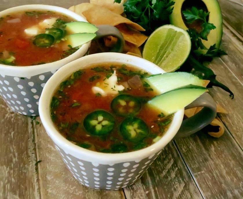 Avocado Vegetable Soup