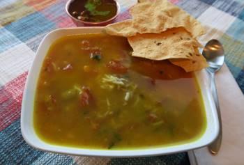 Lentil Succotash Soup
