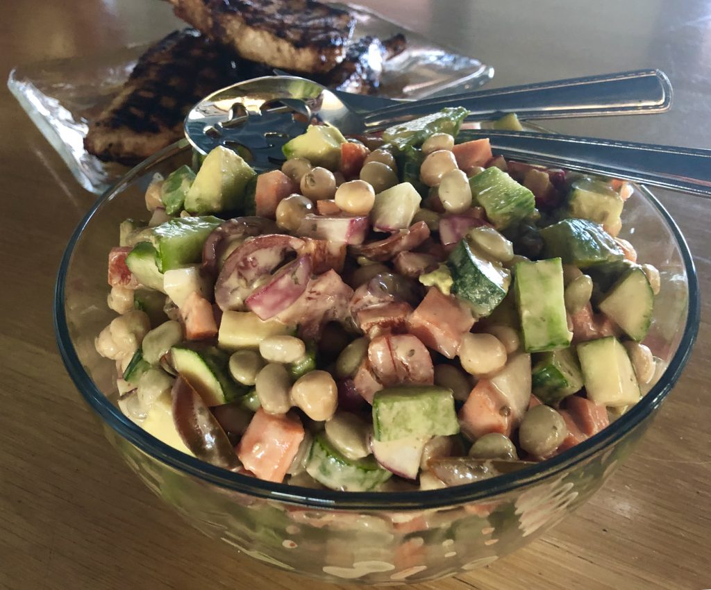 Chilled Vegetable Salad Medley